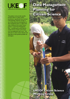 Data management planning for citizen science (front cover)