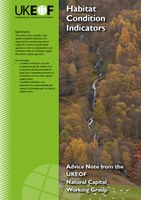Habitat Condition Indicators advice note cover
